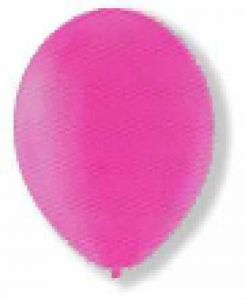 Standard Balloons - one colour - Pink balloon