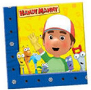 Discontinued - Handy Manny - Serviettes - Handy Manny