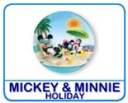 Mickey & Minnie Holiday - discontinued