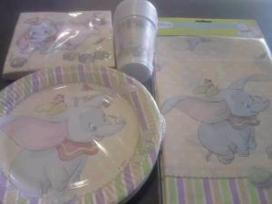 Discontinued - Dumbo the Elephant - Plates