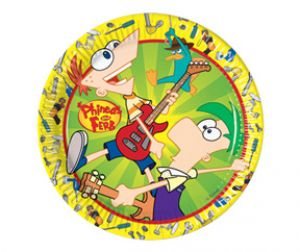 Phineas & Ferb - Plates