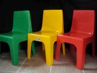 Kids Plastic Chairs for hire