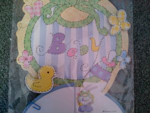 Stork Party Themes - Baby Shower center piece