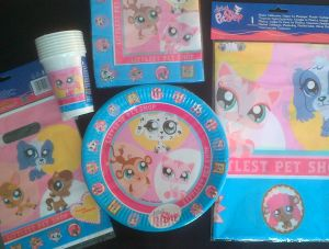 Discontinued - Little Pet Shop - Plates
