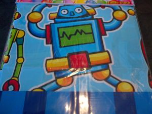Transformers and Robots - Table cover - Robot