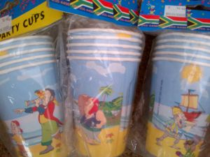 Pirate Ranges - Pirate cups - discontinued range