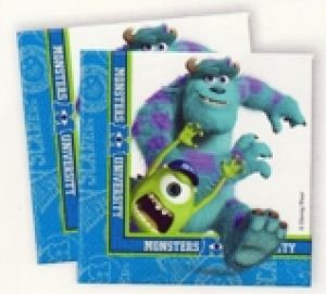 Monsters Inc - discontinued range - Serviettes