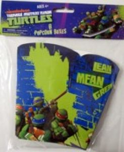 Ninja Turtles - discontinued - Popcorn boxes
