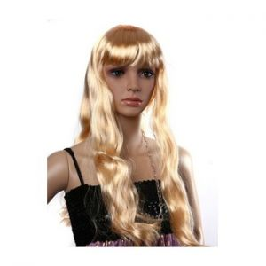 Dress up party wigs - Honey Blonde wig - long