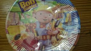 Discontinued - Construction - Bob Builder plates - small