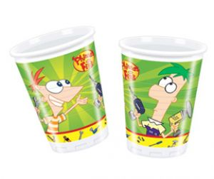 Phineas & Ferb - Cups