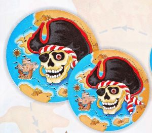 Pirate Ranges - Plate - Pirate skull