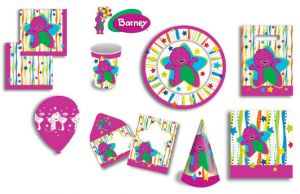 Barney - Discontinued - Mini hand out invitiations with envelopes