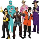 Adult Male Costumes to Hire