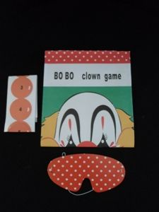 Games - Pin Nose on Clown - Game